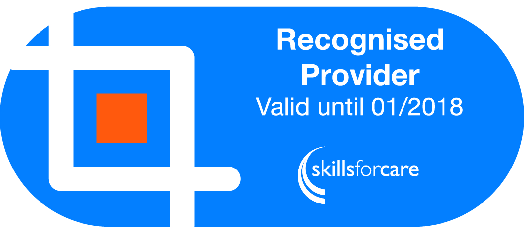 Recognised Provider Valid Until January 2017